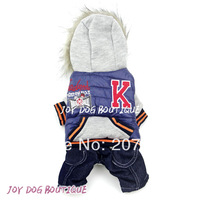 Warm and Fashionable Pet Dog Clothes for Winter