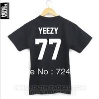 New 214 KTZ pyrex vision 23 kanye west short-sleeve T-shirt fashion brand design pyrex dgk t shirt for men freeshipping