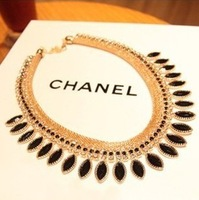 2013 Korean-style Palace Retro Luxury Gem Necklace, Ladies Necklace, Fashion Dress Accessories Jewelry For Women
