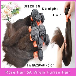 Unprocessed brazilian virgin hair straight hair ,best selling product,top human hair quality SHIPPING FREE(China (Mainland))