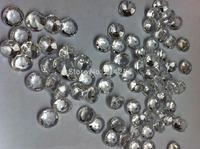 1000PCS  clear 10mm 4carat  Acrylic diamond confetti wedding reception table scatter decoration gems Free shipping