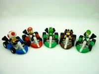 Super Mario Bros Kart  5cm A figures/ Toy  20pack/set