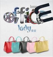 Hot Selling 2014 New Famous Fashion Design Handbags Shouder Bag Women Leather Handbag Factory Price Women  OL Commuter Handbag