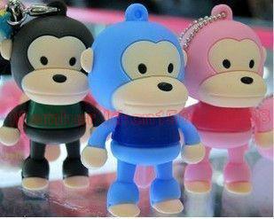 5color monkey Model USB 2.0 Flash Memory Stick Pen Drive 16GB 32BG 64GB 128GB 256GB 512GB