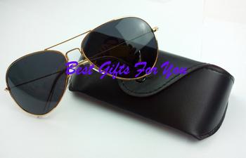 NEW ARRIVAL women men Polarized Sunglasses driving aviator sun glasses with Original Case and Box free shipping