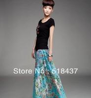 Bohemia big skirt  expansion skirt  bra skirt beach chiffon skirts all free shipping with two ways wear