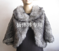 Ms 2013 best-selling fashion&noble imitation fur shawl cloak
