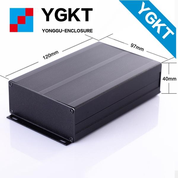 YGS-008-1 97x40x100mm / 3.81''x1.57''x3.93'' (wxhxl)IP66 sealed outdoor weatherproof aluminum enclosure(China (Mainland))