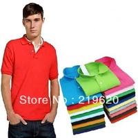Size XXXL XXXXL 2013 New Men'sTop Brand Embroidery 100% Cotton  shirts Men's Casual Cotton Shirt,Drop ship