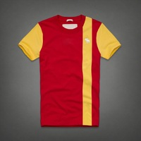 men's brand 2014 new fashion men's tshirt straight spring summer short-sleeve T-shirt world cup t shirt short sleeve