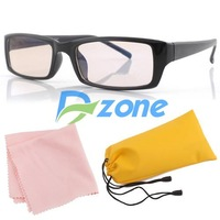 1Pcs/lot Computer TV Radiation Protection Glasses w/ Pouch #4670