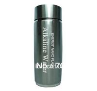 Freeshpping  stainless steel nano alkaline water flask, alkaline water energy cup  6pcs/lot