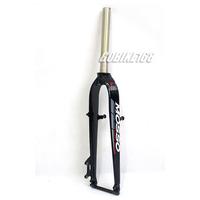 "MOSSO 26"" MTB Bike Aluminium Rigid Straight Blade Bicycle Fork V Brake Disc Brake (Black) New"