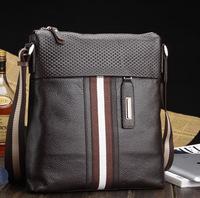 Bolsas Sir Michael Brand Men's Shoulder Bag, 100% Guarantee First Layer of Leather Messenger Bag Factory Direct, free Shipping
