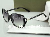 2013 Hot Sale Luxury Sunglasses Gangnam Style Sunglasses For Women with Box