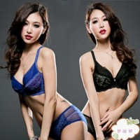 Large size thin section U-shaped bra sets sexy lingerie sexy lace adjustable closing Furu