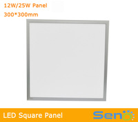 High quality super thin Japan Mitsubishi LED panel light 12W/25W 1ft*1ft wide voltage AC85-265V CE RoHS 3Years warranty