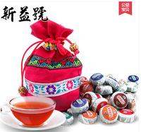 Do Promotion! Free Shipping! 50pcs 10 Kinds Flavor(each 5pcs) Pu er Tea, Pu'erh, Yunnan Puer tea, Chinese Tea