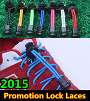 2013 New Edition Lock Laces~13 colors~Elastic Laces with Locks~DHL FREE SHIPPING~No Tie Elastic Shoelaces~For All the sports