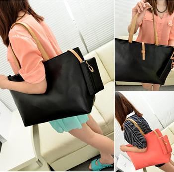 Spring fashion street women's bag buckle women's handbag shoulder bag coin purse