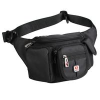 Canvas Mens Travel Shoulder Bags Crossbody Bags Waist Bag Belt Loops Belt Bag Waist Pack Hip Purses Tactical Fanny Packs Sports