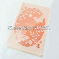 "Bakery Goodies / Candies / Wedding Favor Party Packaging bags, ""Butterflies Print"" 13x19cm 300pcs/lot"
