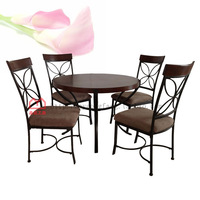 Pinyou Home, dinette, dinning room table and chairs, Dining Room Set, Dining Room Furniture, JS-2