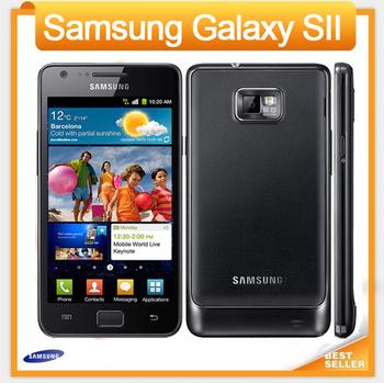 i9100 Unlocked Original samsung GALAXY SII S2 I9100 cell phone Android 2.3,Wi-Fi,GPS,8.0MP camera,Dual Core 4.3'' Refurbished