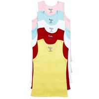 4pcs/lot baby singlet 2013 newborn infant vest wholesale baby wear size 3-18M undershirt hot selling #12501 unisex Free Shipping