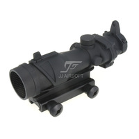 JJ Airsoft ACOG Style 4x32 Scope (Black) FREE SHIPPING(ePacket/HongKong Post Air Mail) Buy 1 get 1 killflash FREE