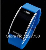 2013 fashion square led water resistant diver sport electric watch suunto watch 5 colors free shipping