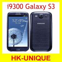 original unlocked EU version Samsung Galaxy S3 i9300 3G network Quad core 4.8 inch 8MP camera  WIFI GPS smartphone dropshipping