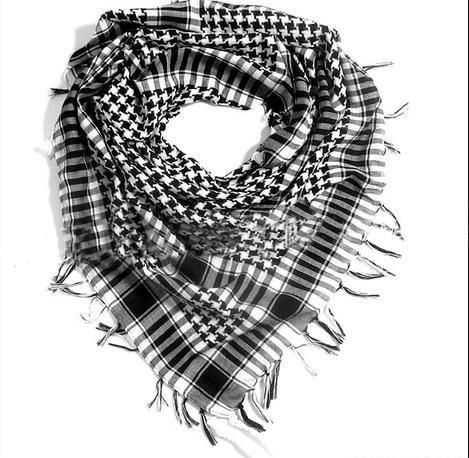 New Fashion Accessories Lattice shawl scarves for women man wholesale o SH09(China (Mainland))