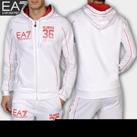 Popular leisure sports suit men male tracksuit varsity jacket with pants sport set free shipping wholesale
