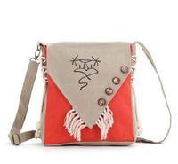 Hotselling new 2015 fashion women's handbag national trend bag vintage canvas shoulder bag messenger bag women handbag