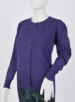 Free shipping  2014 Autumn new arrival women's basic o-neck long-sleeve shirt sweater cardigan Plus Size