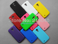 Free Shipping! High Quality Colorful Rubber Matte Hard Back Case for Samsung Galaxy S4 Mini i9190 Frosted Back Cover, SAM-049