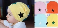 High Quality  M088-1free shipping!  2013 Best Selling  Cute Fashion Five-star Children Cap  Baby Infant Knitting  Hat