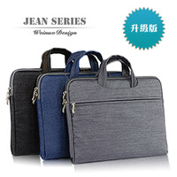 Free shipping, Pop Fashion Business laptop sleeve case 10 12 13 14 15 inch computer bag notebook smart cover With Zipper, EP018