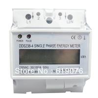 DDS238 10(40) 230V 50HZ LCD Single phase Din rail KWH Watt-hour meter, Din rail Meter,Din railelectric energy meter