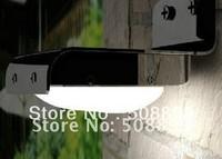 New Waterproof IP65 Solar Powered Home Outdoor 16 LED Wall Light PIR Motion Sensor Garden Steet Lamp Free shipping