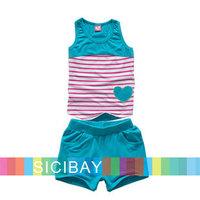 Free Shipping Baby Clothing 2014 Fashion Sets Children Summer Pajama,Baby Girl Sets  K0982