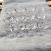 Free shipping. Wedding props. Acrylic champagne glasses. Champagne glass. Special