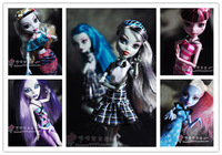 Free Shipping 8pcs/lot Genuine The Monster High Clothing Dress 8-styles Clothes For Original Monster High Dolls