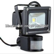 1PCS Automatic human body infrared induction 20 w LED floodlight, intelligent switch LED project-light lamp(China (Mainland))