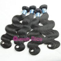 QNice hair 5 bundles cheap human hair weaves peruvian virgin hair body wave 5 pcs lot free shipping
