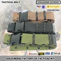 Free Shipping 600D Nylon Tactical Mens belt For 3 colors