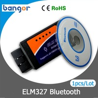 Free Shipping BT ELM327 Bluetooth OBD2 V1.5 CAN-BUS Diagnostic Interface Scanner,Bluetooth ELM 327 OBD 2 Car Scan Tool