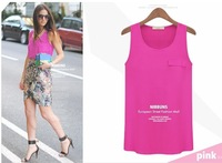 S-L free shipping new fashion Women's summer vest tops ladies blouse #D335