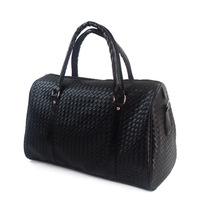 2014 Men Bag Man's Knitted Handbag Fashion Luggage Man's Large Capacity Bag Travel Bag Free Shipping
